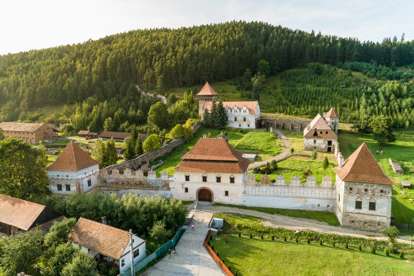 Замок Лазар, Румунія
